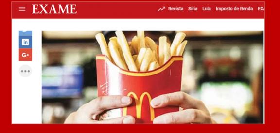 O McDonald's está tendo que mudar a sua gestão de pessoas