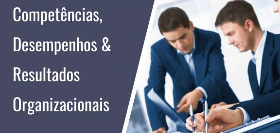 Competências, Desempenhos Humanos e Resultados Organizacionais - Infográfico